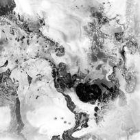 中式风格 黑白抽象装饰画