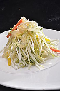白菜拌蛰头
