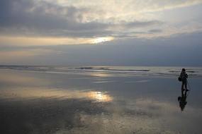 海上的日出景色