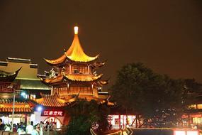 秦淮河畔夜景