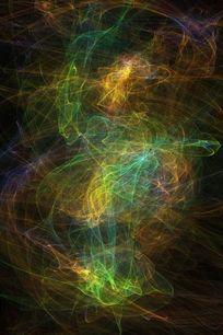 色彩缤纷线条背景