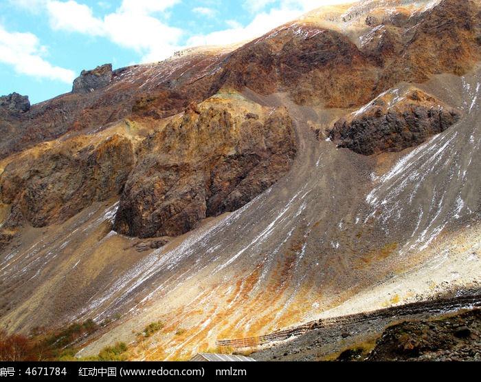 原创摄影图 自然风景 地质地理 长白山特殊的火山地貌