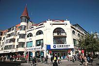 哈尔滨市中央大街洋楼