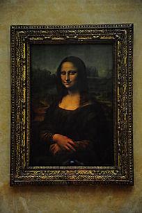 蒙娜丽莎的画像