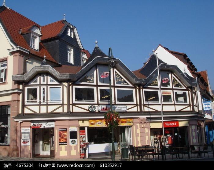 欧式建筑私人住所图片,高清大图_住宅区素材