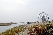 太湖水道大风车