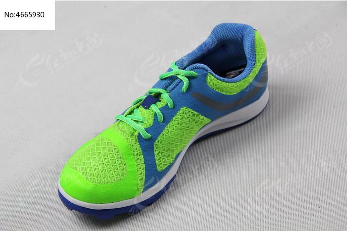 荧光绿运动鞋图片,高清大图