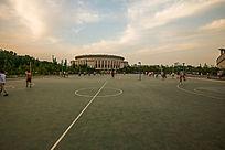 郑州大学篮球场