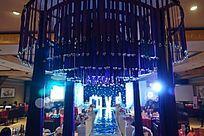 浪漫大气的婚礼舞台现场