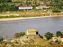 沙坡头景区黄河风景