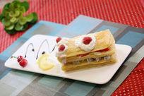 鲜果拿破仑创意西餐
