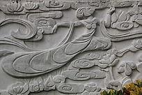 仙女人物浮雕