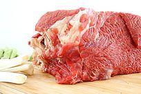 新鲜的生牛肉高清拍摄