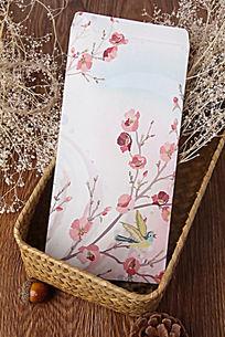 花卉图案信封