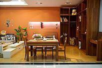 简洁时尚的家居家具展厅