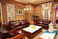 极具时尚个性的客厅整体家居展厅