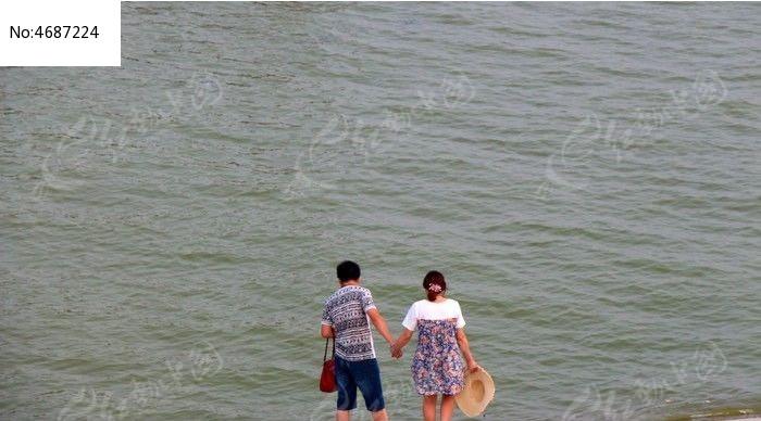 手拉手塞班岛旅游风景壁纸