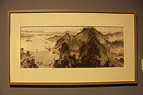 水墨山河 水彩画