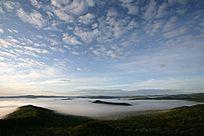 原始森林云海飘渺