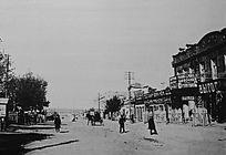 1920年代满洲里博斯普洛斯大街(中苏街)