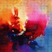 抽象艺术 抽象油画 面料印花