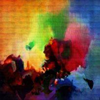 抽象油画 数码印花 抽象