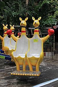 袋鼠雕塑作品