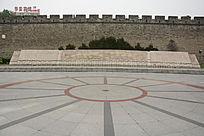 公园龙纹石壁