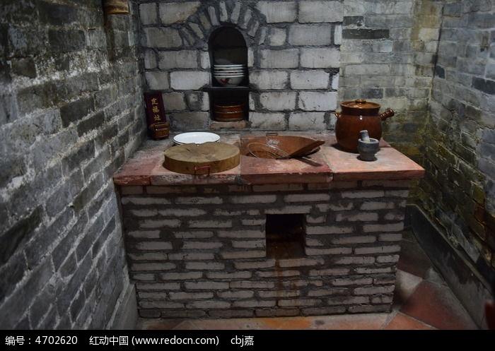 古时做饭的灶炉