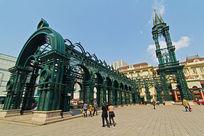 哈尔滨索菲亚教堂广场建筑