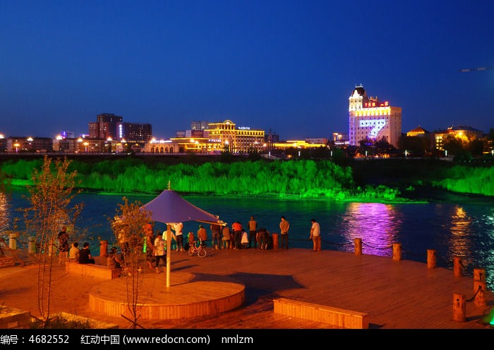 海拉尔城市图片