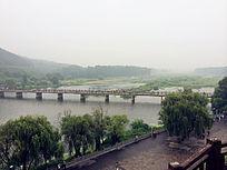 洛阳龙门桥风景