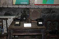 民国的电话机