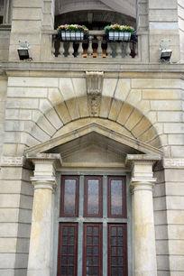 欧式罗马柱大门