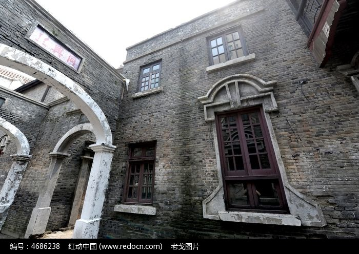 老上海石库门手绘