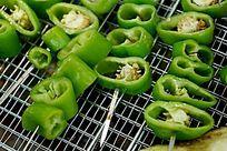 烧烤蔬菜辣椒高清大图