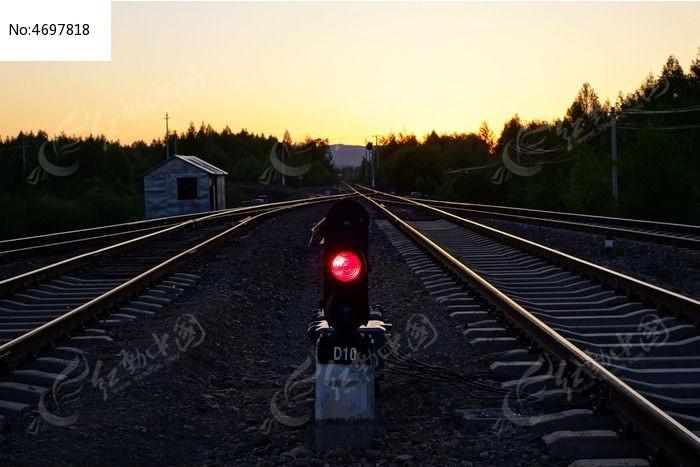 铁路信号灯图片,高清大图