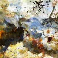 抽象艺术 数码印花 抽象油画