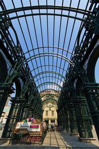 哈尔滨建筑艺术广场铁栏杆