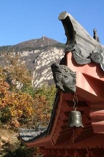 中国古建筑一角