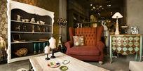 英式奢侈客厅家私特写
