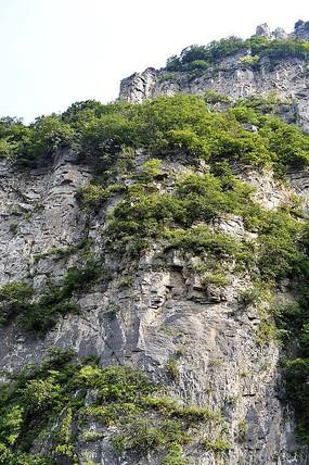 神农山崖壁