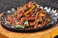 铁板香辣肉