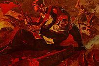 反法西斯战争画