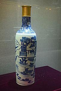 金口瓷器花瓶