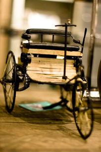 老式人力车家居装饰摆设物品图片