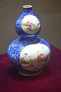 人物葫芦型瓷器制品
