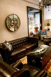 奢侈欧式客厅家饰家私饰品展示