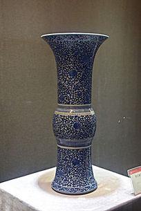 雪花瓷器花瓶