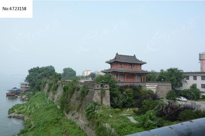 城市古建筑城墙